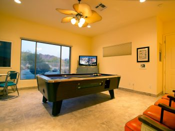 Plenty of room for a pool table, king-size bed, couches, office furniture - you name it!
