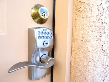 Key-combo locks on north and south outer doors!