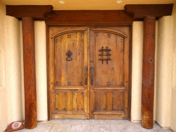 Custom doors from Mexico