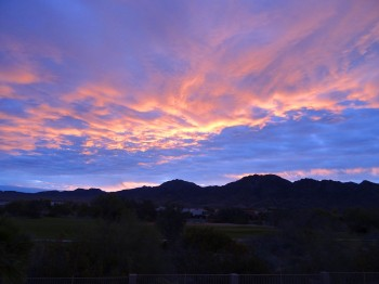 Watch the beautiful sunrises from the viewing deck!
