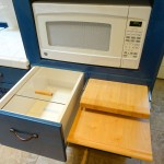 Breadbox and cutting boards